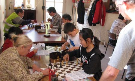 l'école d'échecs 2009-2010